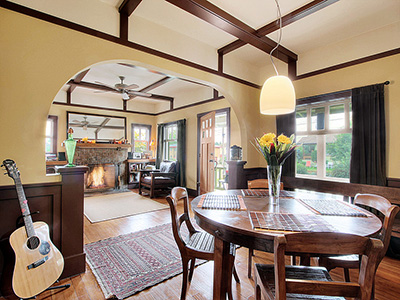 Traditional meets contemporary remodel on a 1916 Craftsman