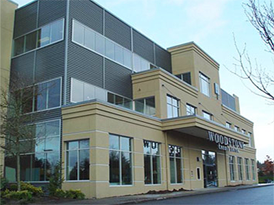 A major remodel and exterior envelope reconstruction to a local credit union headquarter in Federal Way.